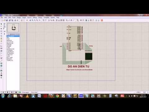 [P2] Hướng dẫn lập trình 8051-Matrix 8x8 - Đồ án điện tử