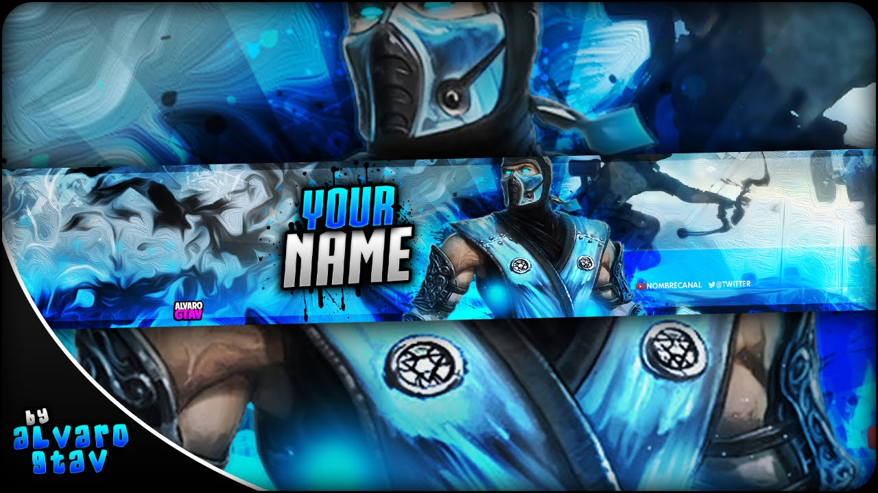 free gaming banner template banner editable psd download link