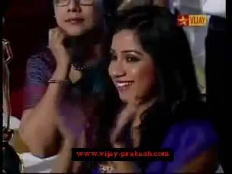 Vijay Prakash - Vijay TV Best Singer Award for Hosana (