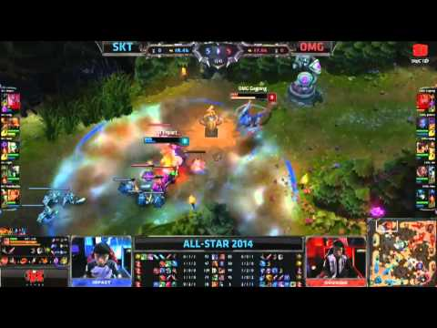 [09.05.2014] SKT vs OMG [All-Star Paris 2014]