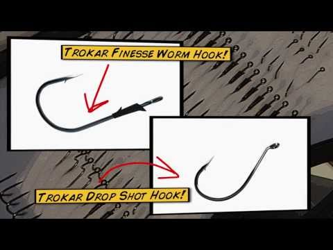Choosing a Trokar for Giant Dropshot Bass - Dave Mercer's Facts of Fishing THE SHOW