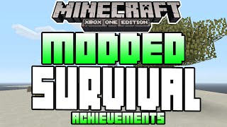 Minecraft Xbox One Edition MODDED SURVIVAL UNLOCK ALL