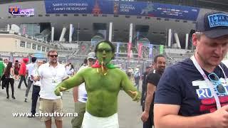 بالفيديو.. لمغاربة  ناشطين فروسيا       بــووز