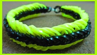 How To Make A Super 6 Six Link Fishtail Rainbow Loom