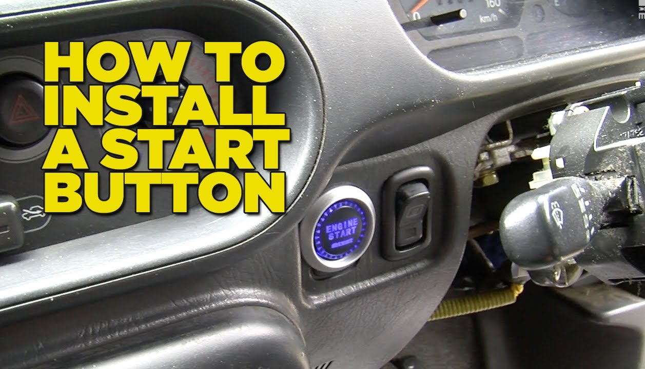 for the 2007 scion tc stereo wiring diagram how to install a start button youtube  how to install a start button youtube