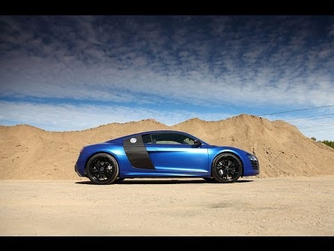 Audi R8 V10 Plus - Capristo Exhaust -LOUD with TUNNEL SOUND