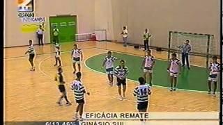Andebol - Ginásio do Sul - 18 x Sporting - 26 em 2000/2001