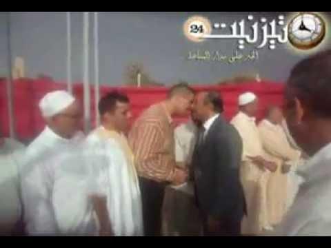 عامل الإقليم في زيارة لمنزل الحاج بلعيد بدوار أنو نعدوا جماعة وجان
