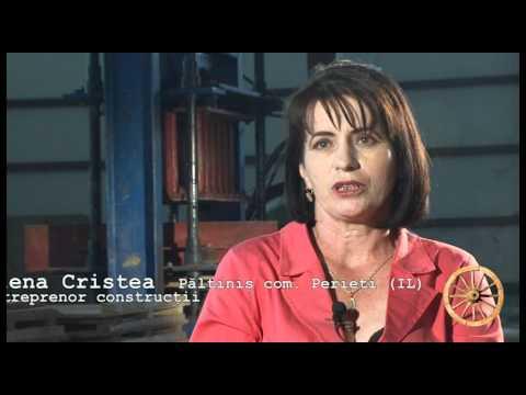 Povesti de succes: Elena Cristea - o afacere cu pavele
