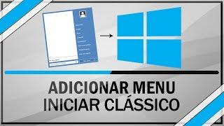 Como Colocar Menu Iniciar Do Windows 7 No Windows 8 E 8.1
