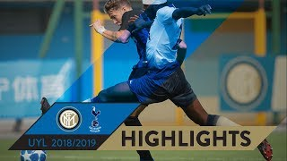 INTER-TOTTENHAM 1-1 | HIGHLIGHTS | UEFA Youth League 2018/19