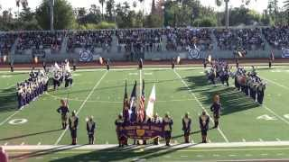 St. Augustine HS Purple Knights Marching 100 2014
