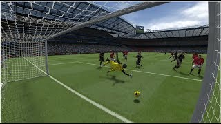 (PS4) Fifa 14 Online Gameplay Chelsea Vs Manchester United HD
