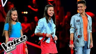 "Szlachcic, Borys, Szmajkowski – ""i Know What You Did Last Summer"" – Bitwy – The Voice Kids Poland"