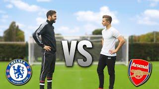 Cesc Fàbregas vs. ChrisMD  | ARSENAL v CHELSEA Football Challenge