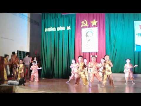 Múa Cánh đồng tuổi thơ - mẫu giáo Kv 4, quy nhơn