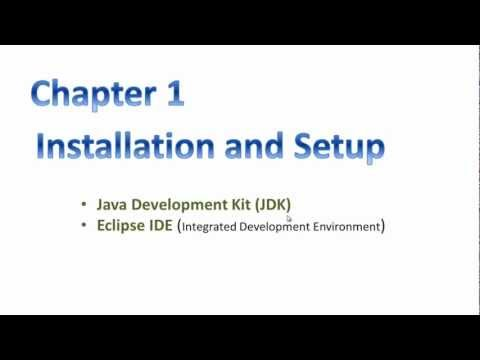 P2 Install JDK &amp; Eclipse - Java in 4hrs step by step