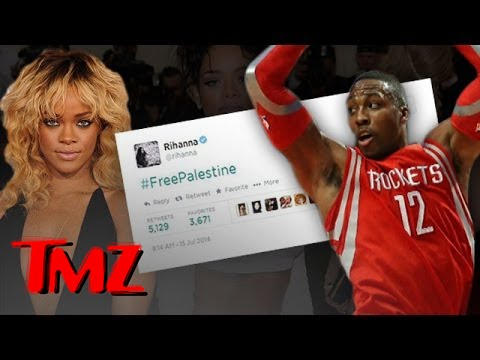 Rihanna's #FreePalestine Tweet Disappears
