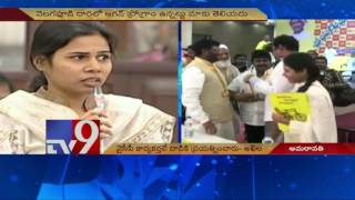 Bhuma Nagireddy reacts on attack at the convoy of his daug..
