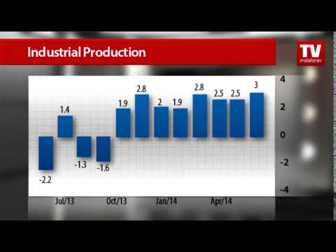 UK industrial output hits 3-year high