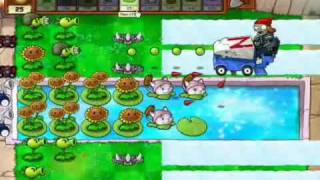 Plantas Vs Zombies Minijuego Carrera De Bobsleigh