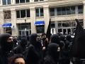 Raw: Anti-Trump Protesters Pepper-Sprayed