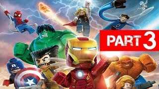 LEGO Marvel Super Heroes Gameplay Walkthrough Part 3