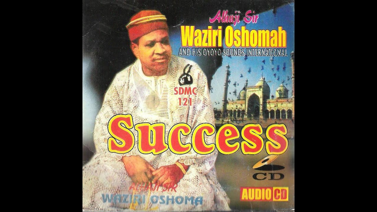 Sir Waziri Oshomah And His Traditional Sound Makers* Alhaji Sir Waziri Oshomah And His Oyoyo Sound International - Conscience - Oyoyo Series IV