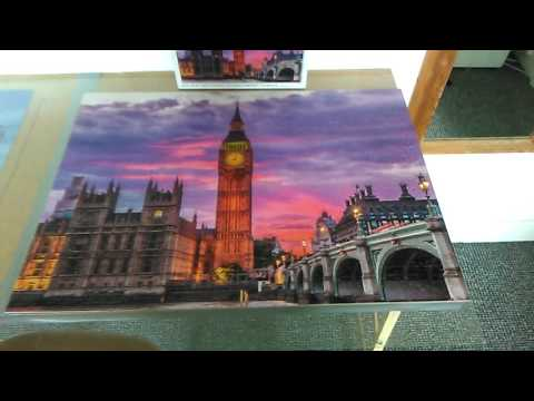Big Ben 1000 piece puzzle-day 5