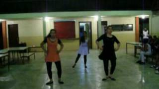 Dança Escolar Ensaio Flash Dance