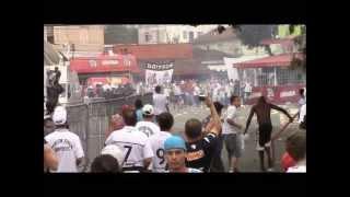 Torcida 24 horas - Guerra na Vila Belmiro - PM x Torcida Jovem - Final do Paulistão 2013. view on youtube.com tube online.