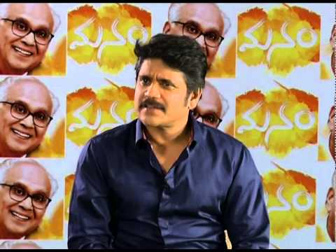 Nagarjuna-Interview-About-Manam-Part-1