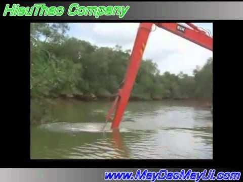 Xe đào lội nước - HieuThaoCo