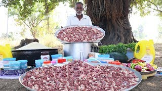 Traditional Mutton Biryani Recipe | World Famous Hyderabad Goat Biryani  by Grandpa