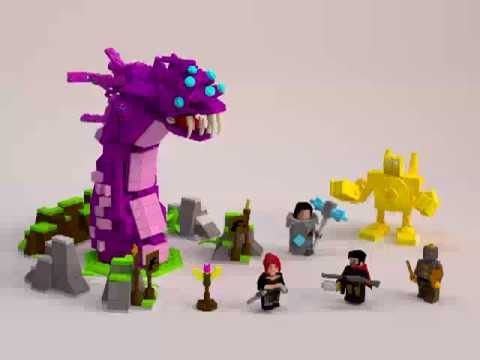 LEAGUE OF LEGENDS - LEGO CUUSOO PROJECT - YouTube