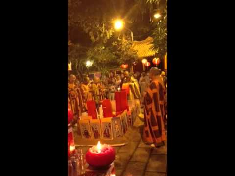 Mãn đàn DƯỢC SƯ tại Chùa VIÊN GIÁC, Quận : Tân Bình