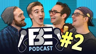 FBE PODCAST #2 | Despacito Comments, Celebs React, Challenges BTS