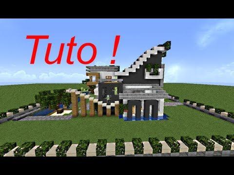 Minecraft - le guide du constructeur ! #1 - maison moderne