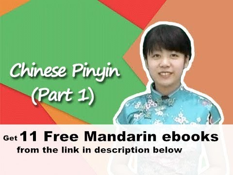 Chinese Pinyin (Part 1)