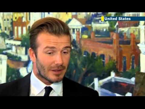 Football star Beckham seeks Miami MLS cash: British icon is most famous soccer player in US