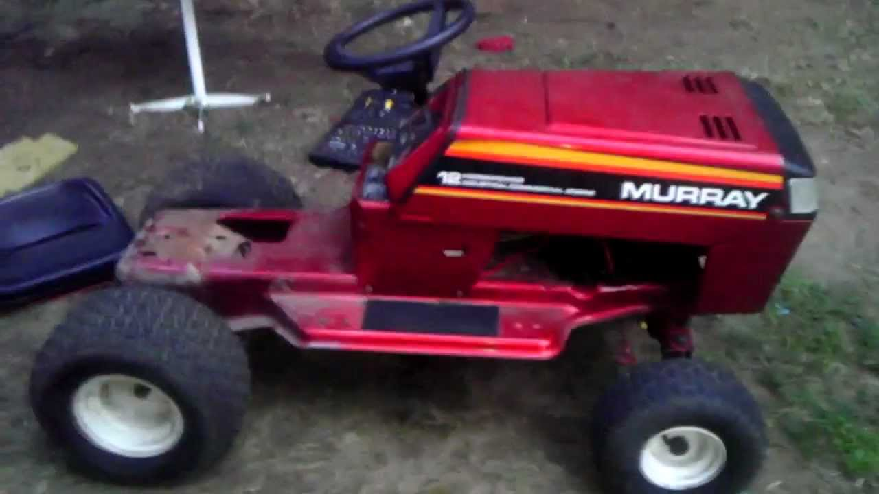 Murray Racing Mower : Murray racing pulling mower build youtube