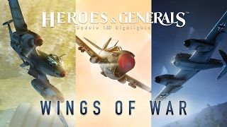 Heroes & Generals - 'Wings of War' Frissítés