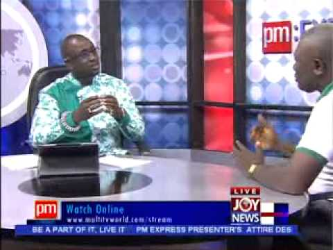 Oil For Food - PM Express on Joy News (14-11-13)