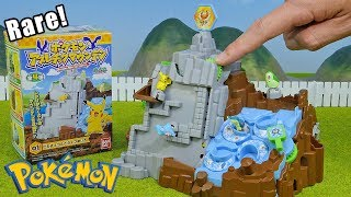 Pokemon Rare Toys Athletic Mountain 4 Packs Unboxing Opening