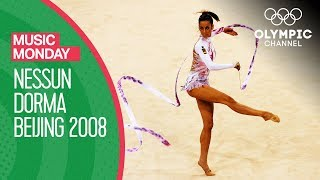 Almudena Cid Performs Rhythmic Gymnastics to Nessun Dorma at Beijing 2008 | Music Monday