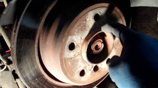 How To Service The Emergency Brake On BMW 528 I