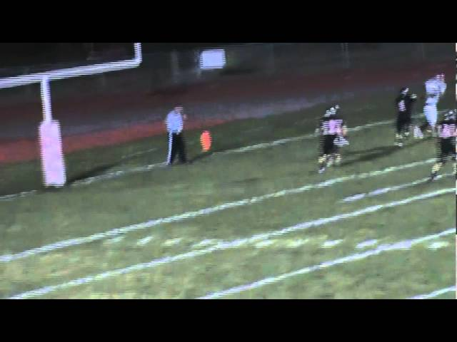 10-21-11 - Mitch Tormohlen connects with Randy Baker for a 6 yard TD (Brush 41, Strasburg 14)