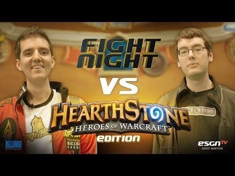 Fight Night Hearthstone - Artosis vs Chakki - S05E04 - Part 1/3