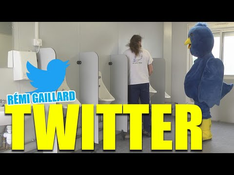 Follow me on Twitter @nqtv (Rémi Gaillard), Rémi is back in business! Follow him on Twitter: http://bit.ly/remitweet Subscribe on YouTube: http://bit.ly/ouiremi Follow Rémi on http://www.twitter.com/nq...