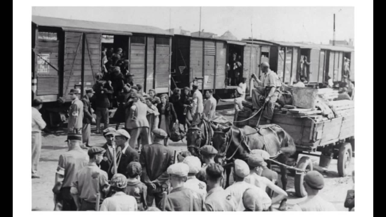 Inside Cattle Cars Holocaust